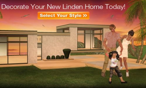 The Lab hopes you will spend time in your Linden home raising virtual children