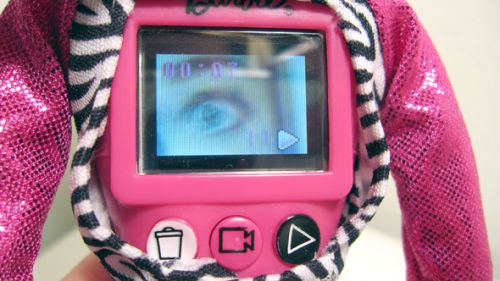 Barbie with camera, LCD, and 256 MB