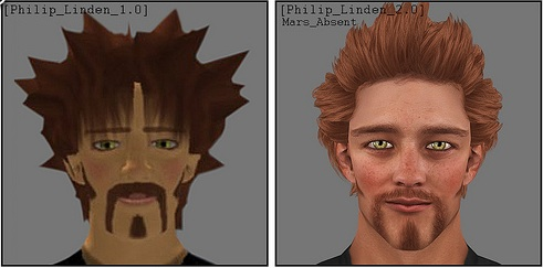 Philip before and after