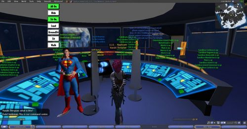 JLU command center