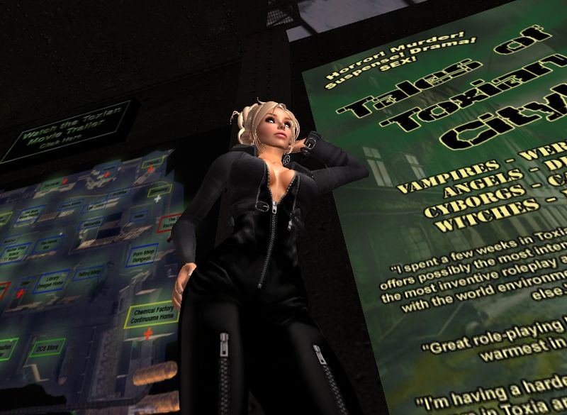 Sex and the Second Life City: Toxian City. by Alphaville Herald on 06/08/09 ...
