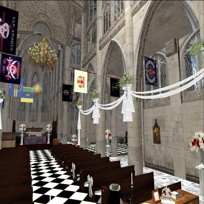 Wedding Altar Sims 2: Grand Duchess Angel Magellan